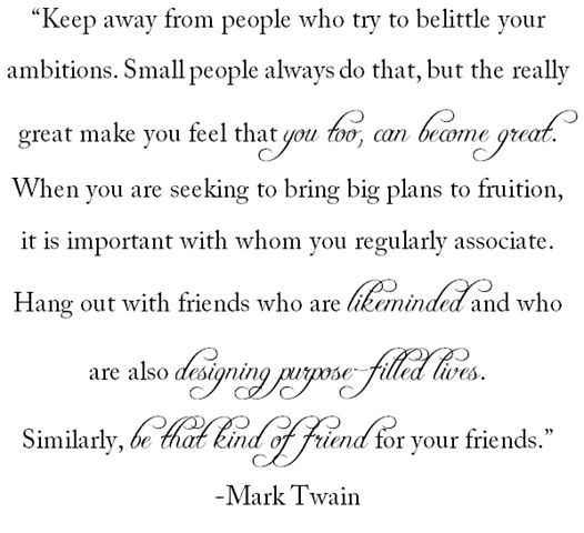 quotes by mark twain. Quote For The Week: Mark Twain